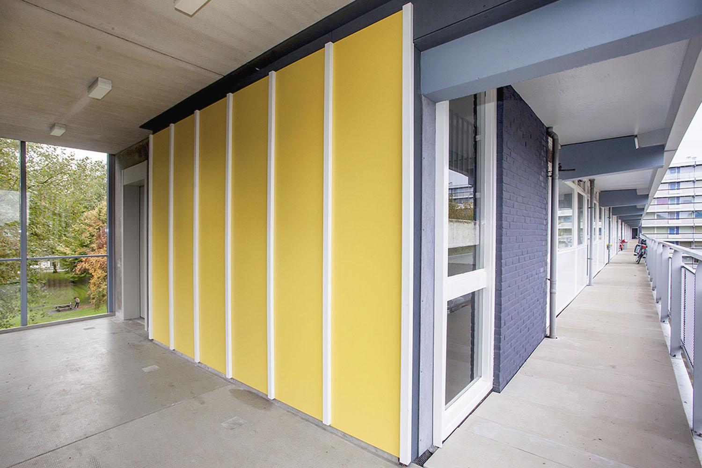 Interior soest portaal galerijflat renovatie - DOOR architecten