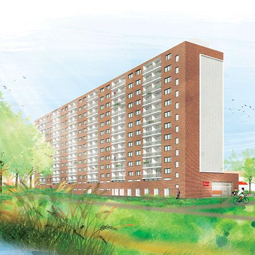 Purmerend-Wheermolen-Oost-door-architecten