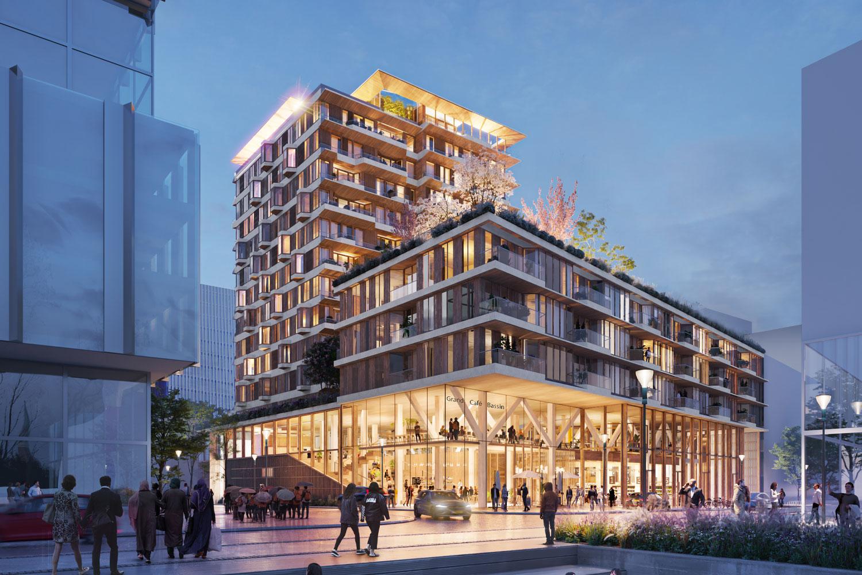 DOOR-Architecten-Amsterdam-Sluisbuurt-Exterior-NIGTH